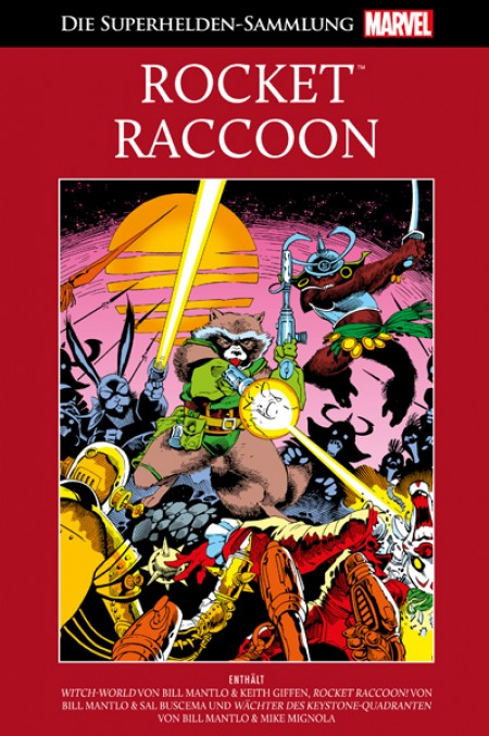 45: Rocket Raccoon